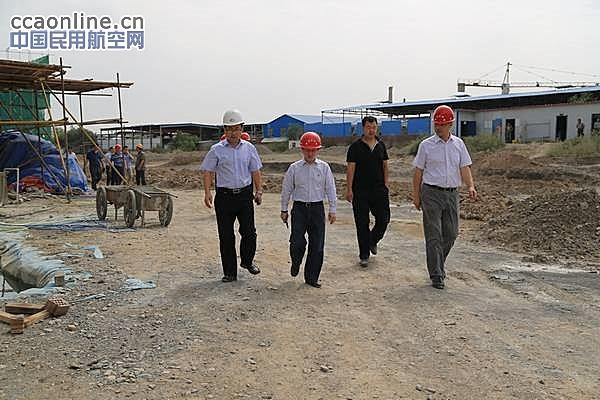空管局总工余波一行来新疆空管局开展专项检查