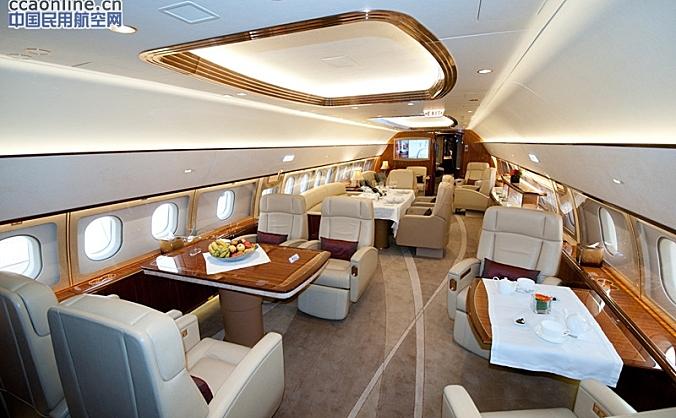 空客ACJ319公务机将亮相亚洲公务航空展(ABACE)