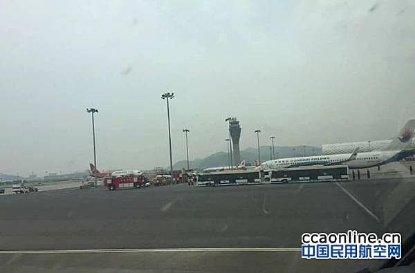 东海航空在深圳机场遭遇炸弹威胁