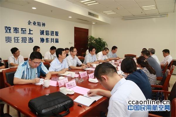民航华东局党委书记姜春水调研常州机场