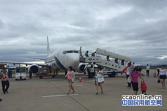佳木斯机场2018年完成旅客吞吐量86.5万人次
