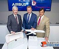 空客与L3科技合作发布新款固定式和可弹射式黑匣子