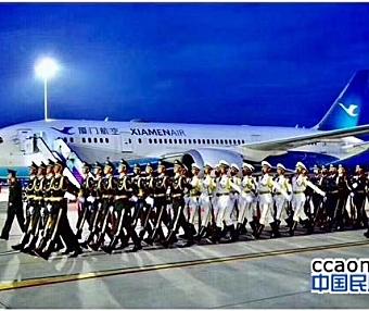 习总书记表示厦航的发展就是中国航空业的缩影