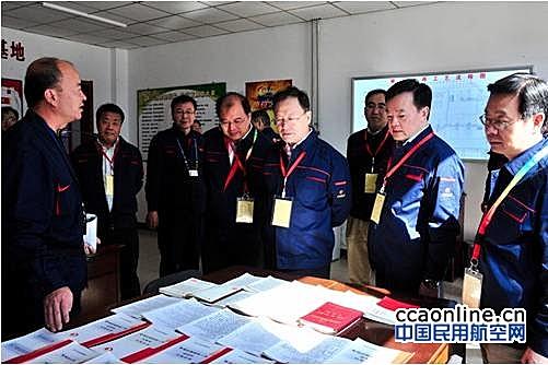 国务院国资委检查组赴中国航油检查指导工作