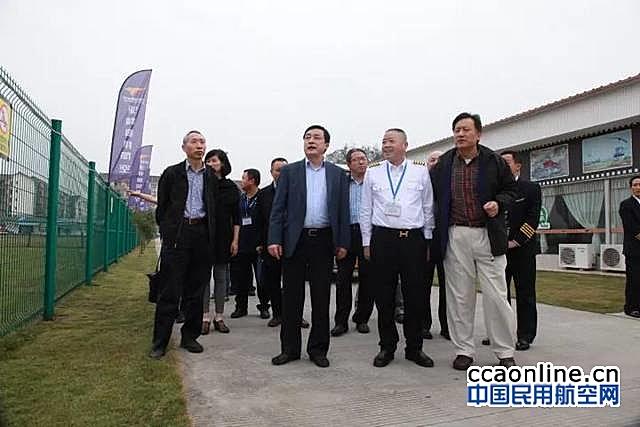 民航局适航司司长徐超群赴驼峰通航考察调研