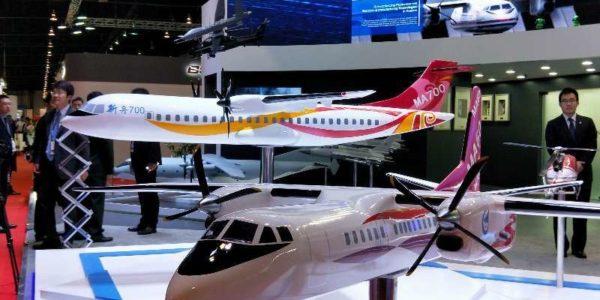 新一代国产航空产品亮相新加坡航展