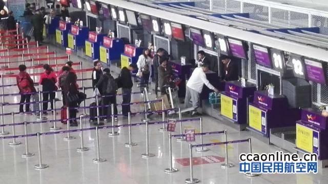 乌鲁木齐国际机场自助闸机系统正式启用