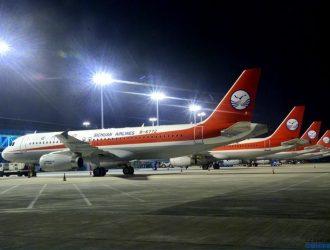 四川航空 重庆江北机场