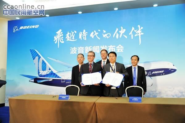 天津波音与沈飞工业集团进出口公司签署采购合同