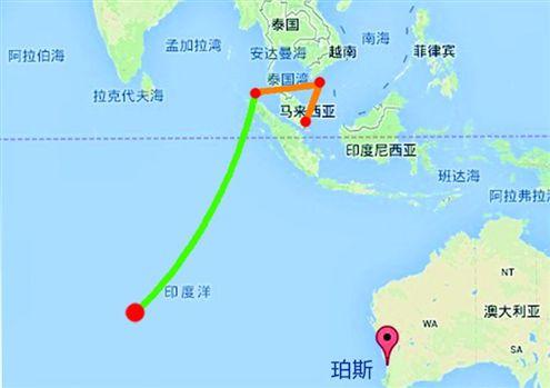 MH370新一轮搜寻即将启动,锁定西澳州南部外海