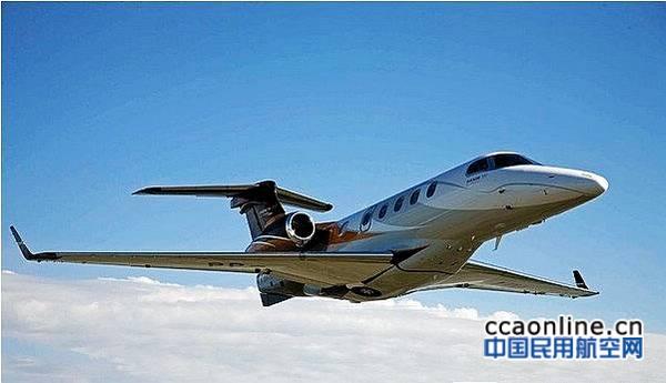 飞鸿300公务机连续四年蝉联全球公务机交付量冠军