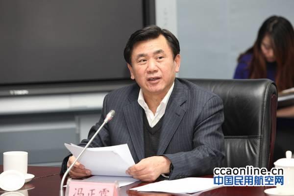 冯正霖会见新疆常务副主席彭家瑞