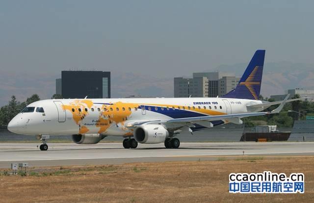 巴航工业2016年共交付108架商用飞机和117架公务机
