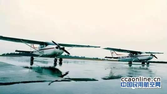 四川龙浩航校再进2架赛斯纳C172飞机