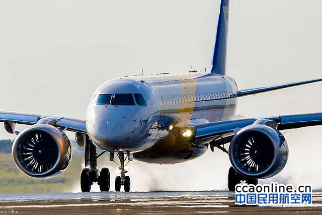 巴航工业第四架E190-E2原型机成功实现首飞