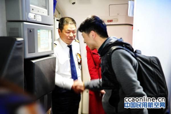 42载飞行岁月,河北航空B737飞行教员刘国平退休