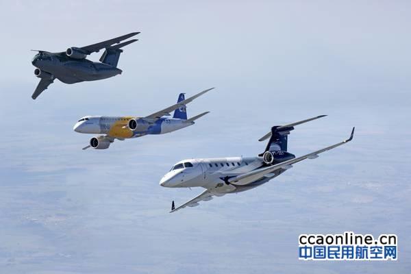 巴航工业2019年第一季度共交付11架商用飞机和11架公务机