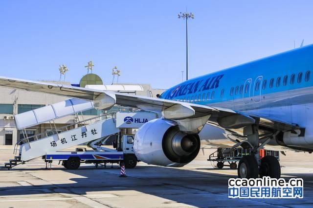 牡丹江机场上半年运送旅客36万人次