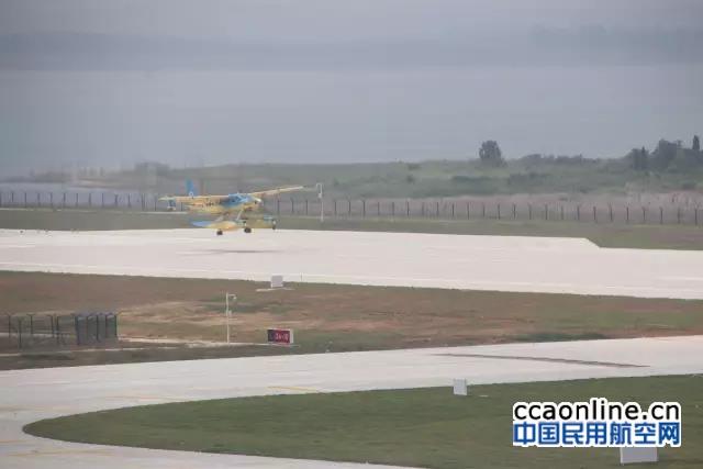 台州首架水上飞机首飞成功