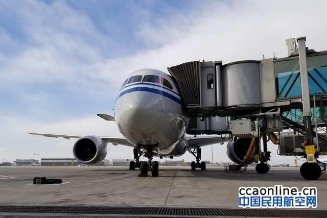 首都机场提升保障效率,全面推行波音787双桥对接