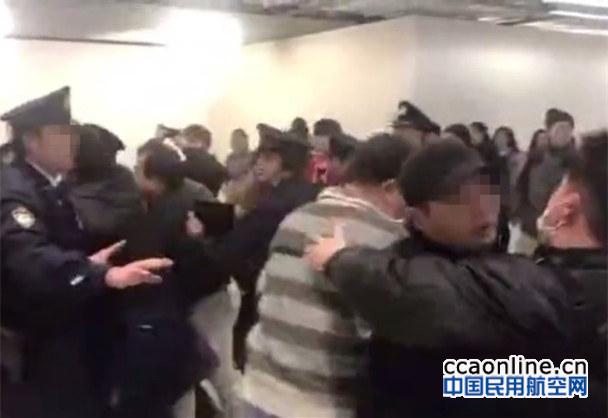 175名中国游客滞留日本机场,因航空公司态度恶劣发生冲突