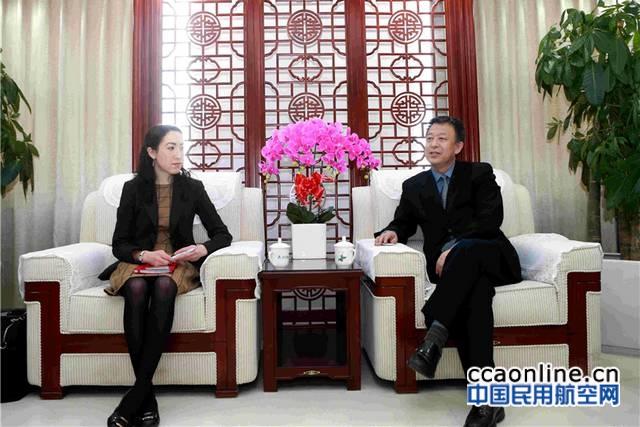 车进军局长会见美国贸易发展署中国事务经理